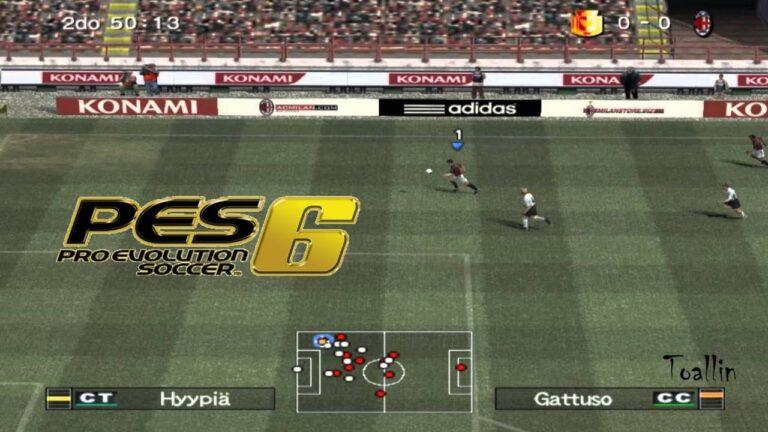 Pro Evolution Soccer 6 - historia del Pro Evolution Soccer