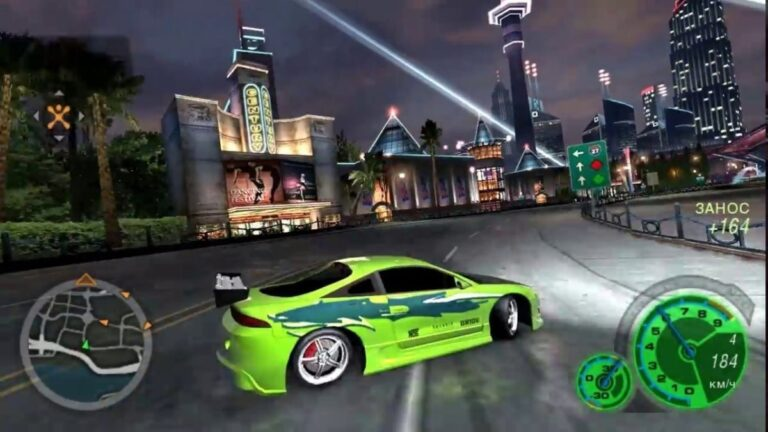 Underground 2 - historia del Need for Speed