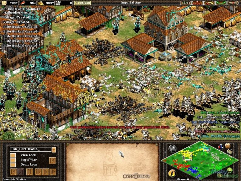 Conquerors - mejor RTS de la historia