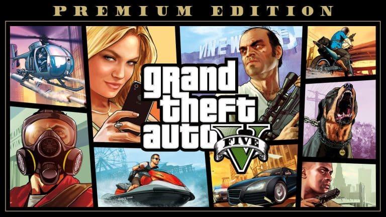 GTA V - videojuegos más vendidos de 2020