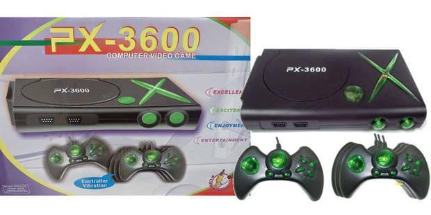 PX-3600 consolas de videojuegos falsas