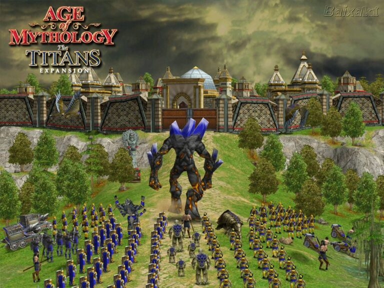 Age of Mythology : Titans expansion